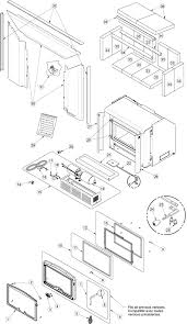 images of fireplace insert parts