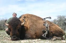 March 6, 2012 Record Buffalo Hunt — Texas Hunt Lodge