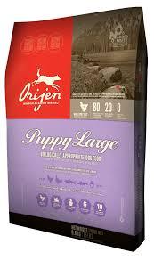 Orijen Puppy Feeding Chart Orijen Large Breed Puppy Kibble 28 6 Lb Pet Stuff Large