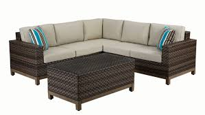 patio couch set. Ann Arbor 4-Piece Patio Sectional Set Couch K