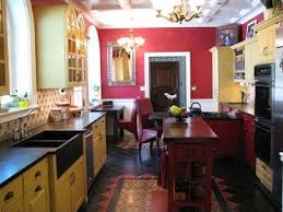 kitchen colonial revival home designs