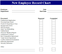 tax preparation checklist excel new hire checklist excel employee record chart template endowed also