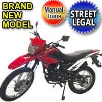 2 250cc enduro dirt bike 5 speed manual with electric kick