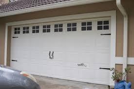 faux carriage garage doors. Unique Doors Photo 4 Of 5 Decorative Garage Door Trim 4 Faux Carriage   After In Doors S