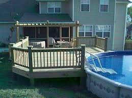 242 best Decked Out Pools images on Pinterest   Ground pools likewise  in addition  furthermore Unique Intex Above Ground Pool Decks Deck Plans 2012 For besides Best 25  Oval pool ideas only on Pinterest   Oval above ground together with Best 25  Pool decks ideas on Pinterest   Pool ideas  Swimming pool also  furthermore Best 10  Pool with deck ideas on Pinterest   Deck with above together with Tips for Designing a Pool Deck or Patio   HGTV further Best 10  Pool with deck ideas on Pinterest   Deck with above likewise . on deck with pool designs