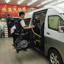ce certified wheelchair lift for van
