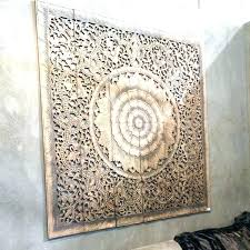 white carved wood wall art white carved wood wall art mandala carved wood wall art panel