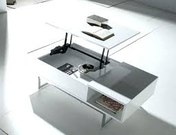 lift up coffee table modern top in choice of colour american furniture warehouse