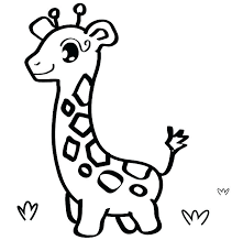 Animal Coloring For Kindergarten Zoo Animals Coloring Pages For ...