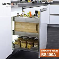pull out basket organizer stainless steel kitchen cabinet pull out baskets kitchen cabinets