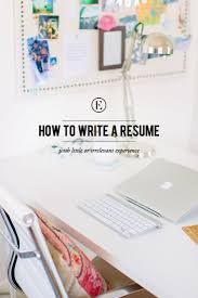 How To Write A Resume With Little Or Irrelevant Experience The
