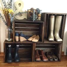 Wooden Pallet Shoes and Socks Storage Rack - Stock Pallets