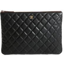 Best 25+ Chanel makeup bag ideas on Pinterest | Chanel makeup ... & CHANEL Caviar Quilted Medium Cosmetic Case Black ❤ liked on Polyvore  featuring beauty products, beauty Adamdwight.com