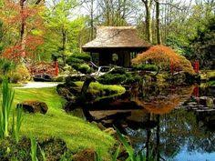 Small Picture traditional amazing japanese garden designs ideas bridge river