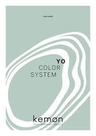 Aequo Color Chart Easy Guide Yo Color System En By Kemon Italia Issuu