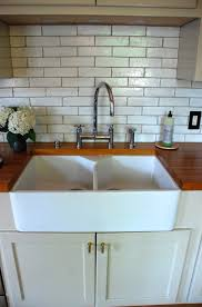 Apron Front Kitchen Sink White Fireclay Double Country Kitchen Sink Home Decor And Interior Design
