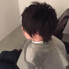 暗髪の男性で短すぎず好印象なヘアスタイルを高橋定で試してみた