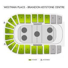 Keystone Centre Brandon Seating Chart Prince George Cougars At Brandon Wheat Kings Wed Jan 15 2020