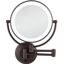 double sided wall mount makeup mirror