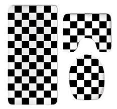 HOMESTORES Race Waving Checkered Flag <b>Thicken</b> Skidproof ...