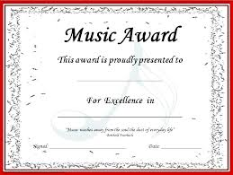 Sample Certificate Award Certificate Award Template Worlds Recognition Free Best