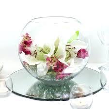 glass bowl centerpieces bulk centerpiece ideas wedding table decorating vase idea
