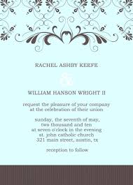 Idea Free Electronic Wedding Invitations Cards Templates Online