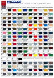 Model Master Enamel Paint Chart Pdf Mr Hobby Color Chart Pdf