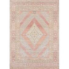 pink blue geometric area rug size runner x 8 rugs