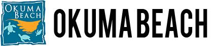 okuma logo. okuma beach logo n