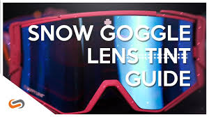 Spy Goggles Lenses Chart How To Choose A Snow Goggle Lens Color Lens Tech Explained