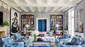 Wallpapered office home design Dining 33 Inspiring Rooms With Wallpaper Architectural Digest 33 Wallpaper Ideas For Every Room Architectural Digest