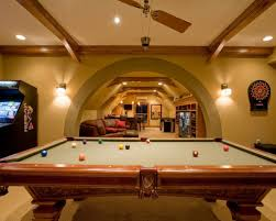 This is probably the coolest basement I've ever seen.