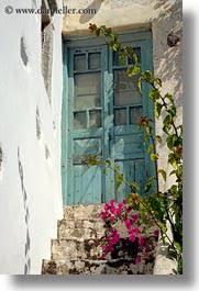 amorgos bougainvilleas doors doors windows europe greece old