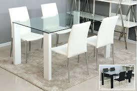 modern glass dining table malaysia sets toronto top