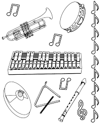 Small Picture Music Instrument Coloring Page GetColoringPagescom