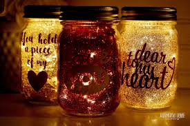 Mason Jar Twinkle Lights Twinkle Lights Glittered Valentine Jars Twinkle Lights