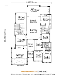 5 bedroom house plans single story designs excerpt 4 bedroomed plan image executive