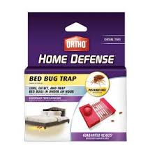 BuggyBeds Home Bedbug Glue Traps Detects and Lures Bedbugs 4 Pack