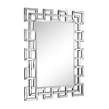 48 inch mirror. Elegant Lighting Modern Clear 48-Inch Rectangle Mirror 48 Inch