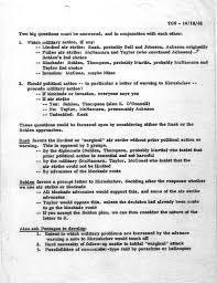 theodore c sorensen memo dated to president  theodore c sorensen memo dated 18 1962 to president kennedy