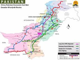 detail of cpec economic corridor routes fiber economic corridor routes in detail