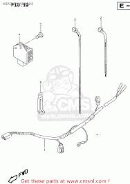 suzuki rmx250 1998 w general e01 wiring harness schematic wiring harness schematic