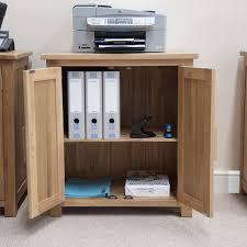 modular solid oak home office furniture. Eton Solid Oak Modern Furniture Home Office Printer Storage Cupboard Modular
