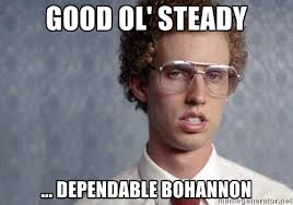 Good ol' steady ... dependable Bohannon - Napoleon Dynamite | Meme ... via Relatably.com