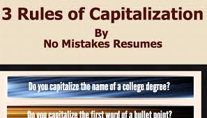 3 Rules For Capitalization on Resumes | Jim (Giacomo) Giammatteo | Pulse |  LinkedIn