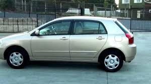 Toyota Corolla Runx 2001, 81km, 1.5L, Auto - YouTube