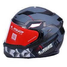 Ls2 Size Chart India Ls2 Ff320 Angel Matt Grey Full Face Helmet