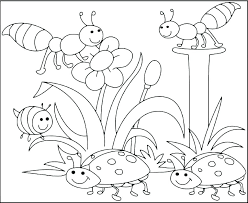 Collection Of Free Coloring Pages For Spring Download Them And Try
