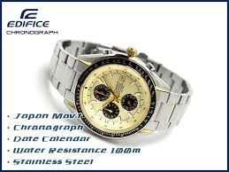 g supply rakuten global market casio edifice mens watch gold casio edifice mens watch gold black dial silver × ef 503sg 9avdr gold